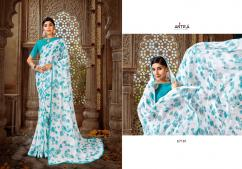 Antra Saree White Diamond Vol-4 67181-67190 Series