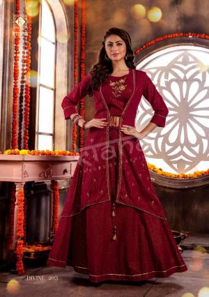 Kiana House Of Fashion Divine 203 Price - 1200