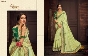 Mahotsav Saree Tishya 13413 Price - 2085