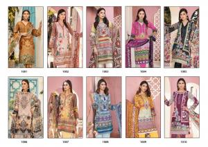 Gulnaaz The Premium Lawn 1001-1010 Price - 3500