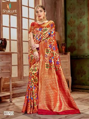 Shakunt Saree Yogini 80703 Price - 981