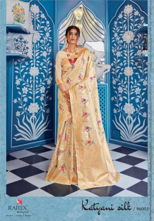 Rajtex Saree Katyani Silk 96003 Price - 1880