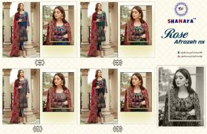 Shanaya Fashion Rose Alrozeh 904 Colors Price - 4796