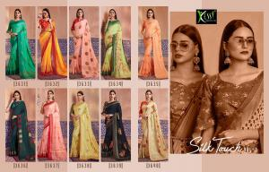 Kessi Fabrics Silk Touch 3631-3640 Price - 8990