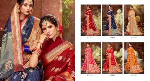 Lifestyle Saree Chetna 63401-63406 Price - 8730