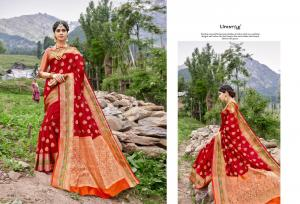 Lifestyle Saree Kashmiri Silk 61681  Price - 1215