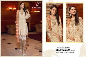 Charizma Designer Mariyaam Luxury Collection 21005 Price - 1449