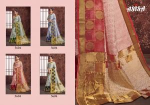 Asisa Saree Suhana 5601-5604 Price - 4300