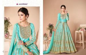 Aashirwad Creation Mor-Bagh Festive 7019 Price - 2895