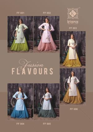 Kianaa Fashion Fusion Flavours 001-006 Price - 7500