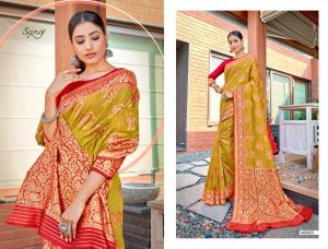 Saroj Saree Rajkanya 460001 Price - 1195