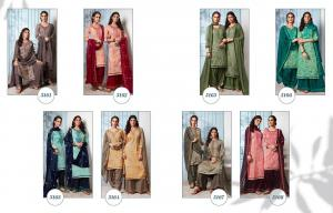 Kessi Fabrics Colours By Patiyala House 5161-5168 Price - 7192