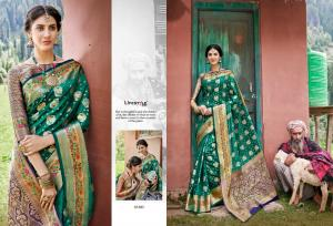 Lifestyle Saree Kashmiri Silk 61685 Price - 1215