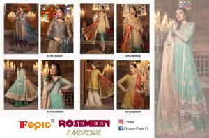 Fepic Rosemeen Embroide 60001-60004 Price - 5196