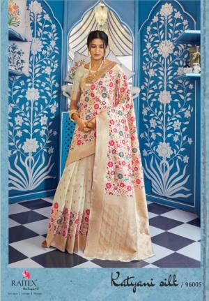 Rajtex Saree Katyani Silk 96005 Price - 1880