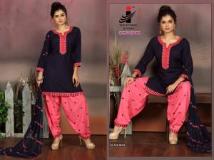The Ethnic Studio Patiyala Babes 1003 Price - 725