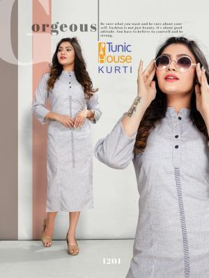 Tunic House Peace 1201 Price - 499
