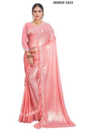 Ruffle Saree Collection 1015 Price - 999