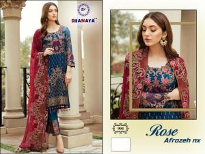 Shanaya Fashion Rose Alrozeh 904 Price - 1400