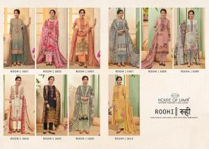 House Of Lawn Roohi 3001-3010 Price - 6500