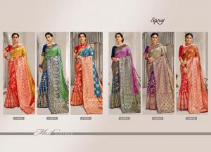 Saroj Saree Vaibhavi 240001-240006 Price - 6510