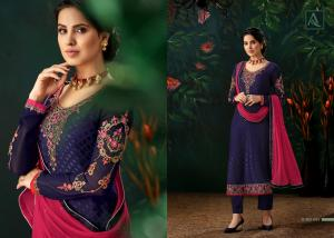Alok Suits Ruhani 408-002 Price - 1049