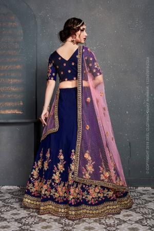 Designer Bridal Lehenga Choli PC 7205 Price - 3600