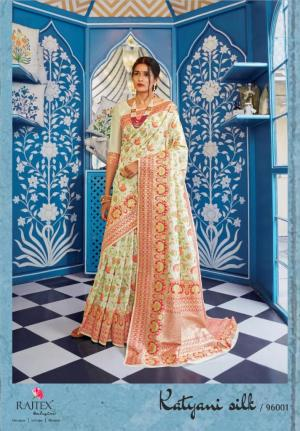 Rajtex Saree Katyani Silk 96001 Price - 1880