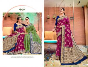 Saroj Saree Rajkanya 460006 Price - 1195