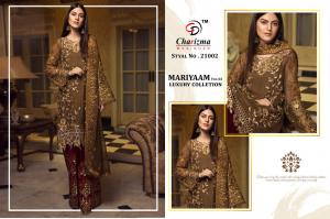 Charizma Designer Mariyaam Luxury Collection 21002 Price - 1449