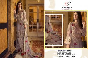 Charizma Designer Mariyaam Luxury Collection 21004 Price - 1449