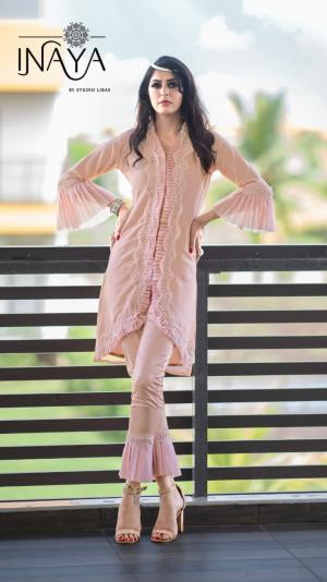 Inaya By Studio Libas Frilly Collection Peach Price - 1399