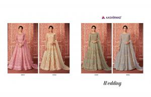 Aashirwad Creation Wedding 8303-8306 Price - 11580