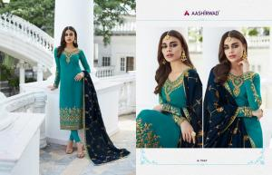 Aashirwad Creation Mor Bagh Mahira 7047 Price - 2100