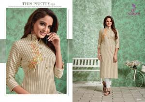 Poonam Designer Strip 1006 Price - 450