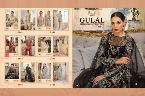 Shree Fabs Gulaal Embroidered Collection 2141-2146 Price - 7494