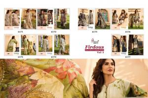 Shree Fabs Firdous Exclusive Collection 6171-6177 Price - 4893