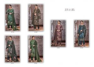 Jinaam Dress Mahira 8179-8184 Price - 8100