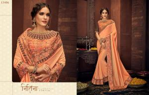 Mahotsav Saree Tishya 13406 Price - 2115