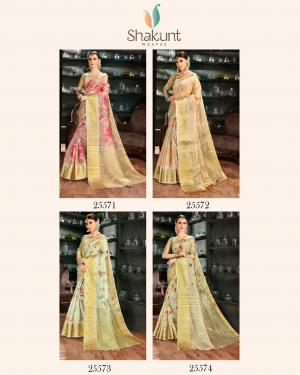 Shakunt Saree Neeti 25571-25574 Price - 5684