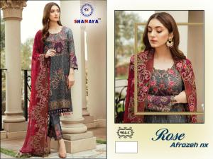 Shanaya Fashion Rose Alrozeh 904 C Price - 1400