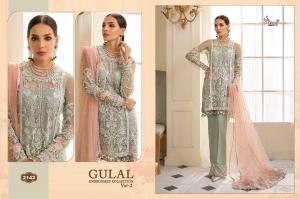 Shree Fabs Gulaal Embroidered Collection 2142 Price - 1449