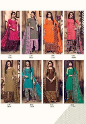Kay Vee Suits Patiyala Dream 136-001-136-008 Price - 3800