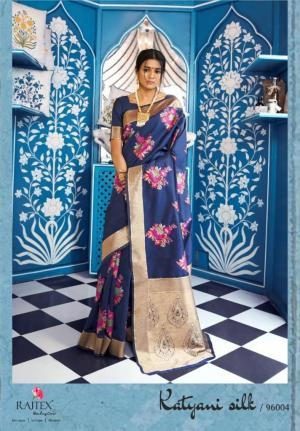 Rajtex Saree Katyani Silk 96004 Price - 1880