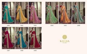 Kavira Saree 1001-1009 Price - 11025