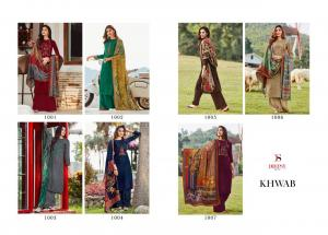 Deepsy Suits Khwab 1001-1007 Price - 4550