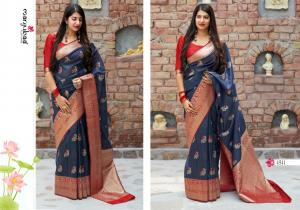 Manjubaa Clothing Mangalya Silk 1811 Price - 1545