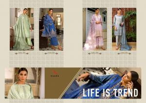 Kaara Suits Nasren 7001-7004 Price - 3596
