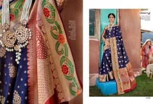 Lifestyle Saree Kashmiri Silk 61684  Price - 1215