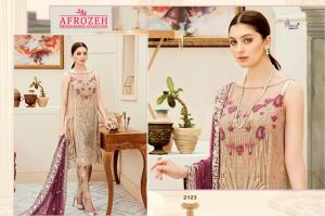 Shree Fabs Afrozeh Embroidered Collection 2123 Price - 1431
